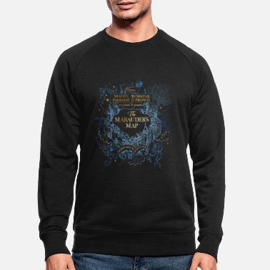 Carte Harry Potter Carte du Maraudeur - Sweat-shirt bio Homme