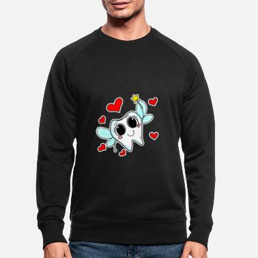 Tooth fairy tooth magic - Men's Organic Sweatshirt