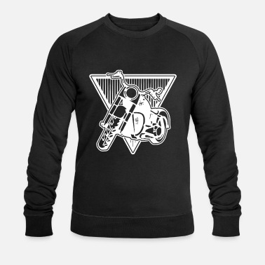Motor Race Motorcycle Biker Tour Motor Race Road Race Stunt - Mannen bio sweater