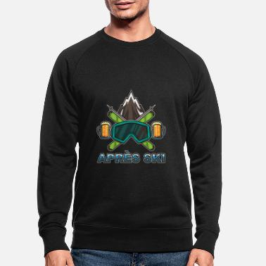 Ski Resort Apres Ski Team - Skiing And Snowboarding - Men's Organic Sweatshirt