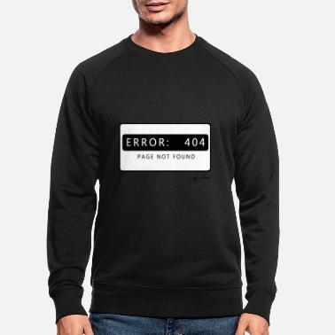 Funny hacker virus nerd geek - Men's Organic Sweatshirt