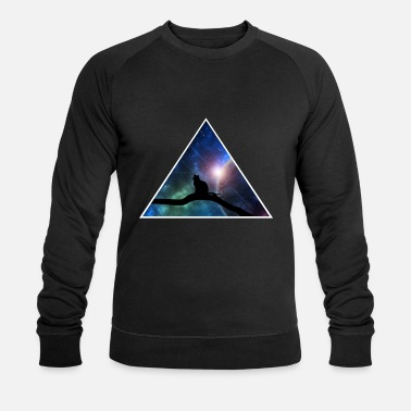 Chat dans l'univers - Sweat-shirt bio Homme