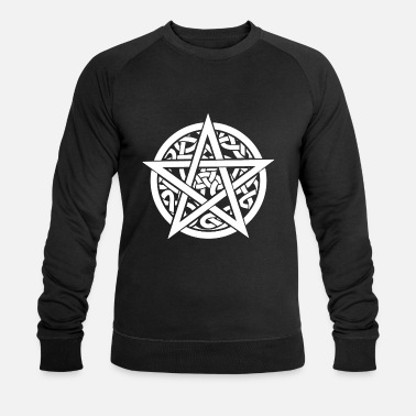 Celtic PAGAN CELTIC Pentagram SHIRT Diabolo - Men's Organic Sweatshirt