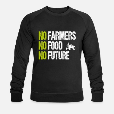 No Future No Farmers No Food No Future - Felpa ecologica uomo