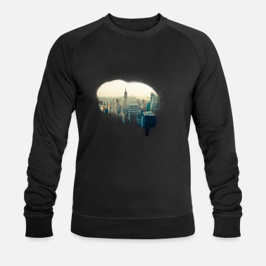Ny ny new york city Graffiti - Männer Bio Pullover