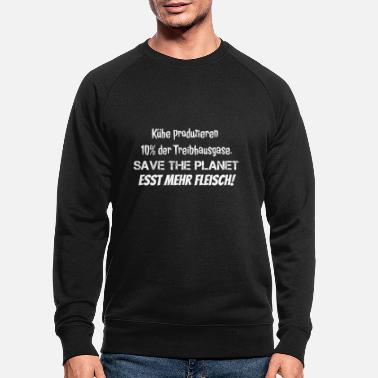 Treibhausgase SAVE THE PLANET! - Männer Bio Pullover
