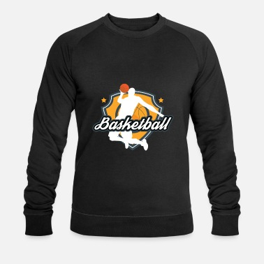 Basketball Player The shirt for real basketball players, basketball - Men's Organic Sweatshirt