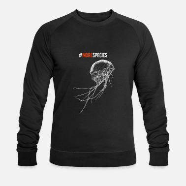 More species black - Men's Organic Sweatshirt