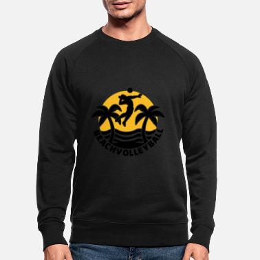 Beachvolleyball Beachvolleyball - Mannen bio sweater