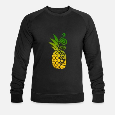 Maori Pineapple Maori Hawaii tribal tattoo gift idea - Men's Organic Sweatshirt