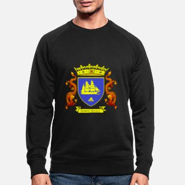 Louis Tomlinson ROYAL BLUE NAVY - Men's Organic Sweatshirt