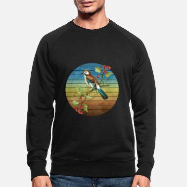Aile Oiseau coloré - Sweat-shirt bio Homme