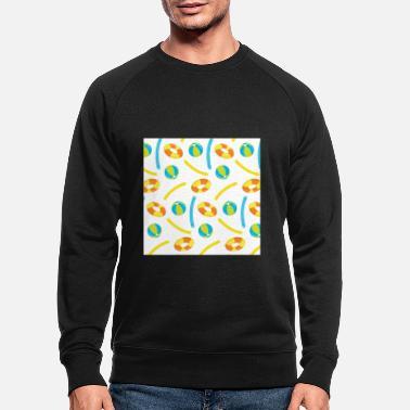 Summer Neck Gaiter Beach Pool Float Pool Noodle - Men's Organic Sweatshirt