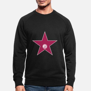 City Prominence Usa walk of fame + your name - Men's Organic Sweatshirt