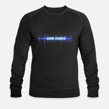 Sound Ingénieur du son Sound Engineering Gift Audio Wave - Sweat-shirt bio Homme