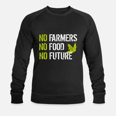 No No Farmers No Food No Future - Felpa ecologica uomo