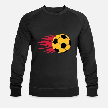 Soccer football - Sweat-shirt bio Homme