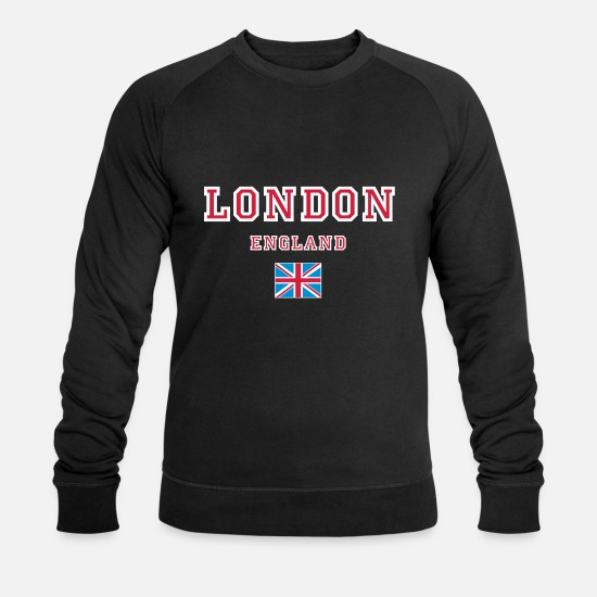 London Hoodies & Sweatshirts - London, England - Men's Organic Sweatshirt black
