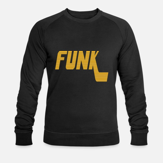 Funk Sweat-shirts - Funk 2 - Sweat-shirt bio Homme noir