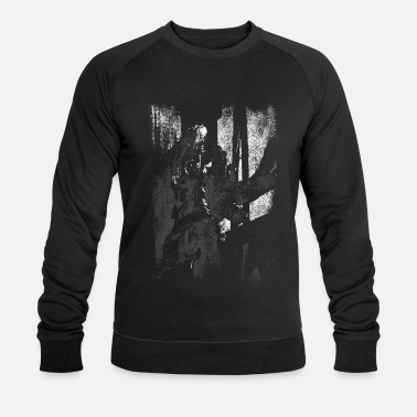 Apparition Ghost Vintage Apparition - Abstrait Gothique Horreur - Sweat-shirt bio Homme