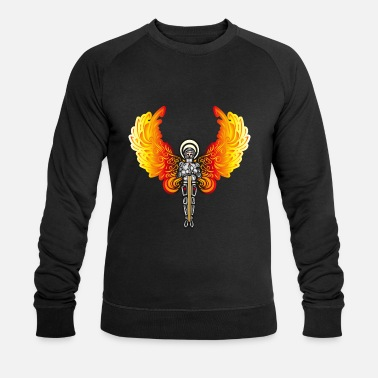 anges chevalier - Sweat-shirt bio Homme