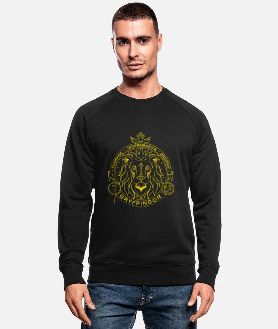 Official License Sweatshirts & hættetrøjer - Harry Potter Gryffindor Lion - Økologisk sweatshirt mænd sort