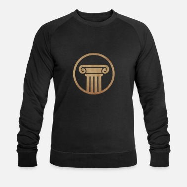 Pillars Ancient pillar - Men's Organic Sweatshirt