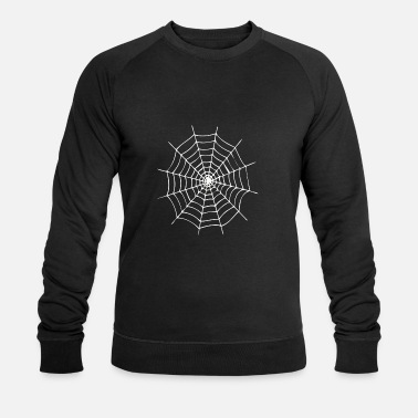 Web Spider Spider Spiderweb Fear Legs Christmas - Men's Organic Sweatshirt