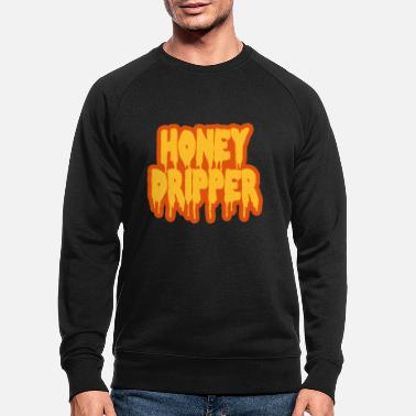 Blaxploitation Honey Dripper - Men's Organic Sweatshirt
