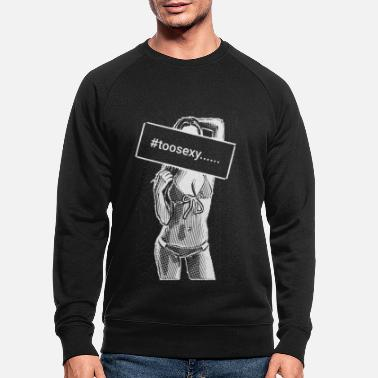 Flierten to sexy girl 2reborn - Men's Organic Sweatshirt