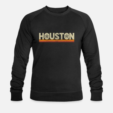 Vintage Houston Texas Vintage - Sweat-shirt bio Homme