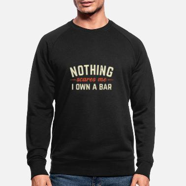 Bar Pub Bar owner pub bar innkeeper - Men's Organic Sweatshirt