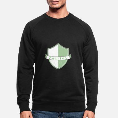 Patriote patriote - Sweat-shirt bio Homme