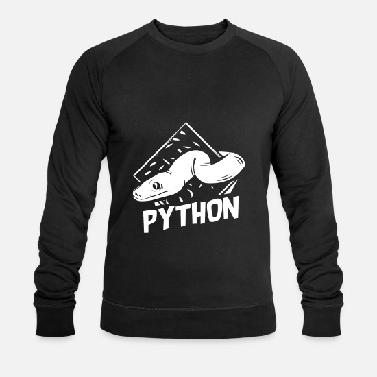 Poison Sweat-shirts - python - Sweat-shirt bio Homme noir