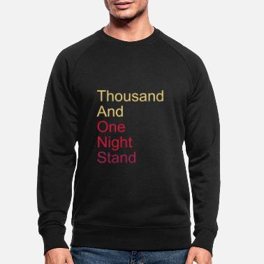 Coquetear thousand and one night stand 3colors - Sudadera orgánica hombre
