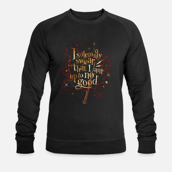Potter Tröjor & hoodies - Harry Potter Harry Potter I Solemnly Swear - Ekologisk tröja herr svart