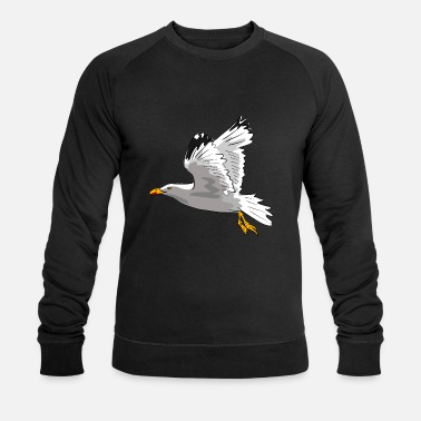 Reop mouette - Sweat-shirt bio Homme
