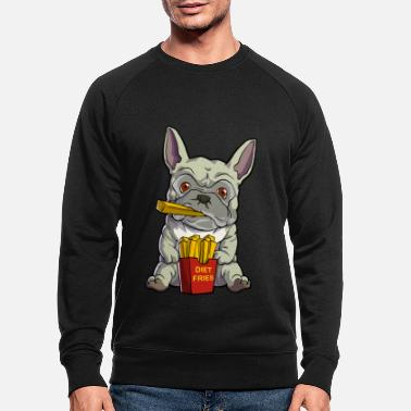French Bulldog Frenchie - Men's Organic Sweatshirt