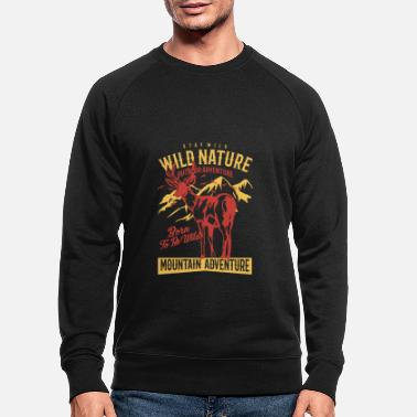 Femme Nature sauvage - Sweat-shirt bio Homme