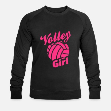 Volley volley girl - Mannen bio sweater