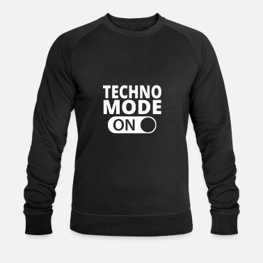Mode MODE ON TECHNO - Männer Bio Pullover