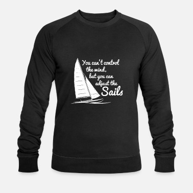 Zeilboot Zeil T-shirts - Mannen bio sweater