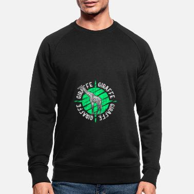 Okapi Giraffe Christmas Birthday Gift Idea - Men's Organic Sweatshirt