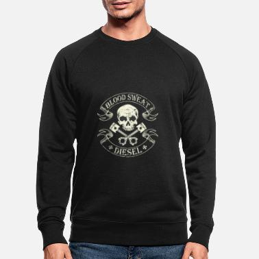Diesel Power Gear l Blood Sweat Diesel Brother - Mannen bio sweater