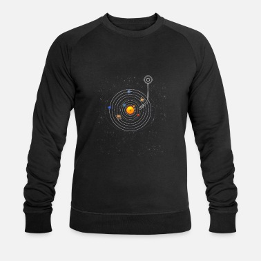 Solar System Record - Sun, Planets and Co - Men's Organic Sweatshirt