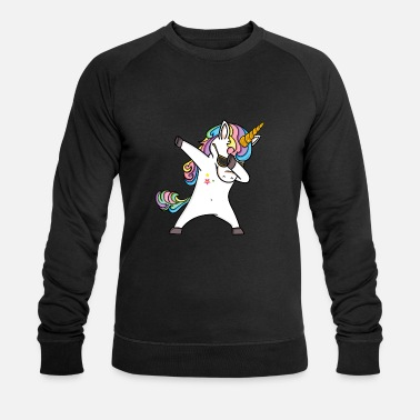Fille Tamponnage T-shirt Licorne Fille Licorne - Sweat-shirt bio Homme
