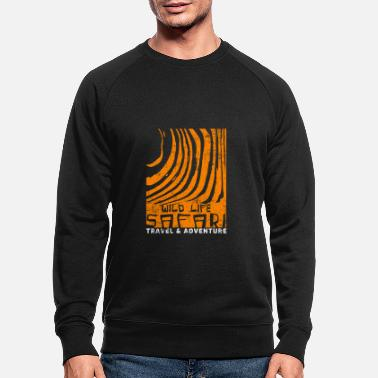 Safari safari - Mannen bio sweater