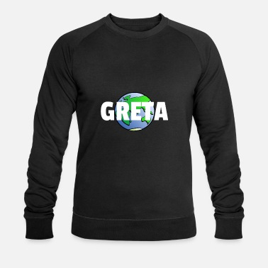 For Protection de l'environnement changement climatique Greta Earth - Sweat-shirt bio Homme