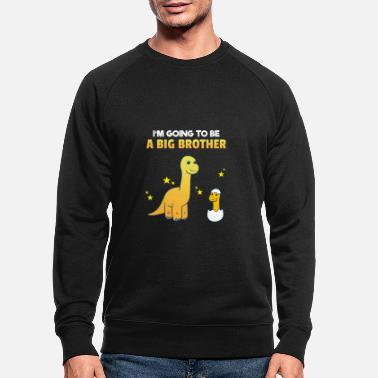 Brotherasurus Siblings brother Brothersaurus I gift - Men's Organic Sweatshirt