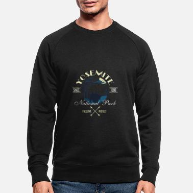 Helped Dome Preserve Protect Yosemite National Park - Men's Organic Sweatshirt